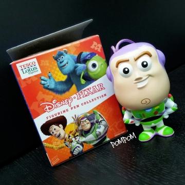 The figurine pen I've got - Buzz Lightyear from Toy Story